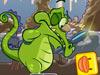 小鳄鱼的变形鸭