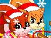 小松鼠圣诞觅食中文版
