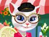 会说话的天使猫装扮