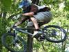 真人特技自行车