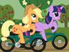 小马驹自行车赛