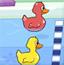 小鸭子游泳赛