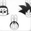 卡通人物兔年贺岁