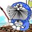 机器猫水彩画5