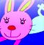 小白兔填颜色