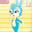 蓝兔顶泡泡