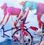 自行车跑车拼图