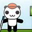 熊猫玩球球