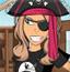 时尚海盗女