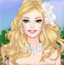 芭比春的婚纱