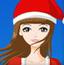 圣诞节时尚女孩