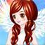 漂亮的秋季天使