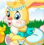 复活节可爱兔子