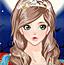 漂亮的万圣节公主
