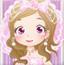 可爱粉红新娘