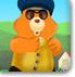 给打扮小熊