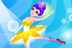 舞动的芭蕾女孩