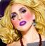 Lady Gaga万圣节造型