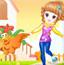7岁女孩感恩节
