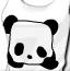 可爱的熊猫服饰