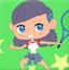 网球小女孩