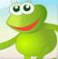 可爱长腿蛙