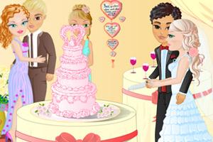 婚礼切蛋糕