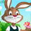 复活节装扮兔先生