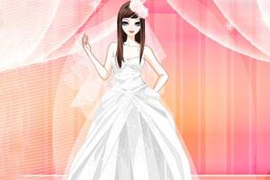 迷人的婚纱