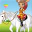 丽莎去骑马