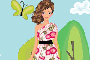 我爱连衣裙