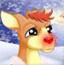 红鼻子小驯鹿
