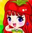 水果蔬菜女孩