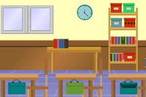 逃离三年级教室