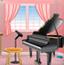 钢琴室逃生