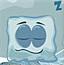 冬眠中的冰块