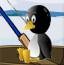 企鹅玩钓鱼
