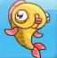 跳跃小金鱼