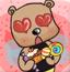 泰迪熊收集糖果