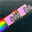 彩虹猫接金币