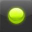 绿色油漆球