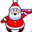 圣诞老人巧接礼物