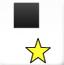 黑方块踩星星