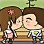 在公园接吻