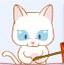 小白猫钓鱼