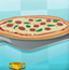 店员制作比萨