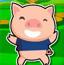 可爱小猪快跑