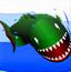 恐怖鲸鱼吃小鱼