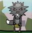 黑太狼吃羊