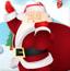 圣诞老人接袜子